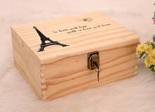 wooden chest box