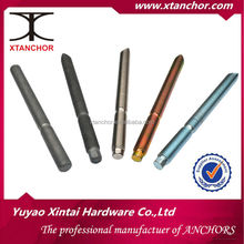 Chemical anchor bolt/Made in China/Manufacturer/YZP/BZP/CARBON STEEL/M10x130