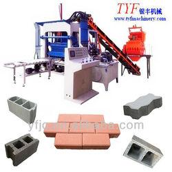 QTY4-20 Automatic Hydraulic Concrete Cement Block/Brick Making Machine