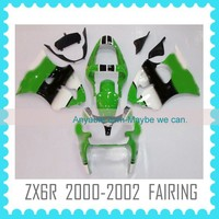 hot sale Aftermarket ABS Custom Fairing Body Kit Quality ABS motorcycle Fairing for Kawasaki ZX6R 2000-2002