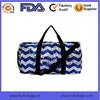 Hot Sell Fashion Style chevron printing Travel Bag Tote Bag
