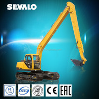 High quality cheap price long reach front 12t,22t excavator spare parts