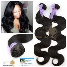 7A best quality brazilian mink hair extension, 2015 new design body wave remy hair weave