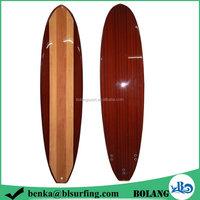 Top grade bottom price wood grain sup surfboard