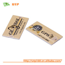 customized personalized credit card truck shape usb flash drives