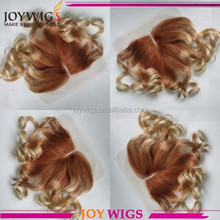 Joywigs Factory Beautiful Hair styling middle parting top lace closure