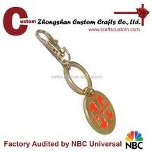 factory direct sale custom metal keychain