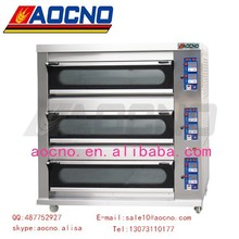 Professional Manufacturer bread machine deck oven