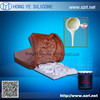 flexible density silicone rubber mold for stone veneer product