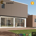 WPC compuesto paredes prefabricadas de panel