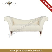 creative design arm leisure fabric upholstered sofa