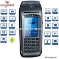 TPV De mano , Protable Eft POS Cajero automático Registro Pago con tarjeta NFC, Windows CE OS Xsmart15