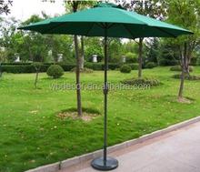 2015 most fashion 2.7m aluminum garden solar led light outdoor patio umbrella