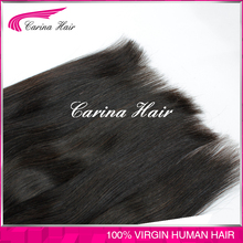 Carina Hair Products Straight Top Quality Natural Color 100% Unprocessed Wholesale Virgin Remy Eurasian Hair
