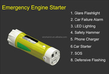 Sinohamm LED Light Multi-Function Mini Portable Car Jump Starter electric car battery sale global car battery
