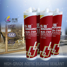 construction project usage acetic silicone sealant for glass window