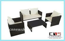 PE rattan chair set garden outdoor furniture