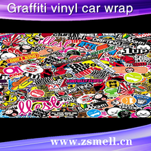 hot selling pvc water-proof magentic joy kid painting car door stickers/advertising magnetic custom logo car sticker