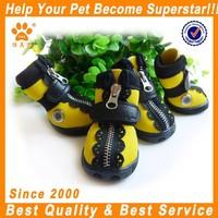 cute fashion pet leisure sporty shoes waterproof dog boots