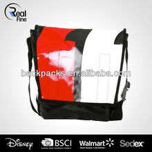 Fashion tarpaulin message bag