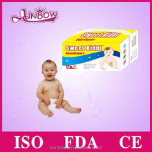Sweet quality diapers in bulk baby sleepy baby diaper wholesale cloth like film