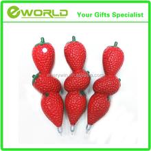 Fruit Style Stationery Plastic Ball Pen
