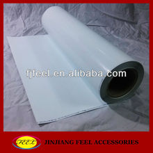 White color PU flex vinyl film for clothing