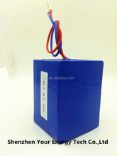 UL certified lifepo4 12V 9.3AH li-ion battery pack 26650 battery for USA by 3years' guaranty