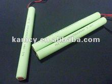 alta calidad del paquete de bateria AA 3.6V 2500mAh batería de NiMH recargable Ni-Mh