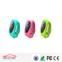 Mini Kids cell watch phone with gps, gps cellphone wrist watch, kid phone wrist watch with sim card slot