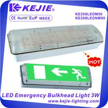 3W Self-testing SMD3528 50PCS LED Emergency Light