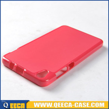 Soft jelly tpu cell phone case for lenovo s850 back cover