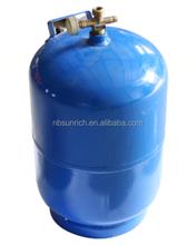 nitrogen lpg gas cylinder with valve