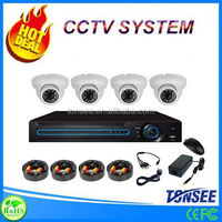 Wholesale home security system AHD kit camera cctv 4CH Dome 720P/960P/1080P full hd camera module