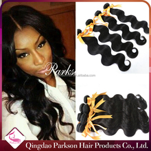 Tangle free peruvian hair weave In stock body wave peruvian hair weaves pictures