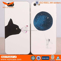 wholesale Ultra thin printing tpu mobile phone cover for iphone 6 case