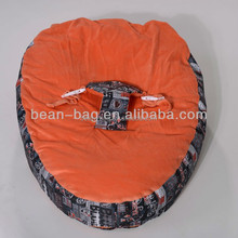 2014 New Designed Printed Bean Bag Chair/ 100% Colour Customized Baby Bean bag /Comfortable Baby Bean Bag Chair
