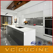 Standard lacquer kitchen with island