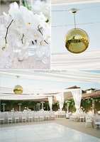 giant outdoor hanging disco ball