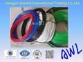 de plástico recubierto de acero galvanizado 304 cable de cable de acero inoxidable con cubierta de plástico 1x19 20mm