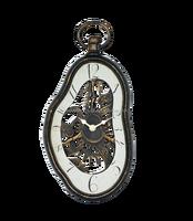 Fashion decorated wall clock melting clock for Dali series