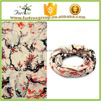 2016 new desins square china factory tube wholesale polyester cooling bandana