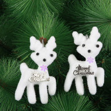 Wholesale Christmas decorations, Christmas tree ornaments, deer bear pendant