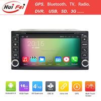 Quad core A9 16GB android 4.4.4 1024*600 HD car dvd player for TOYOTA RAV4 Camry Corolla Vitz Echo VIOS HILUX Terios PRADO