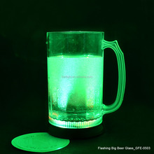 From GMTlight Transparent Big Size Flashing LED Beer Glass