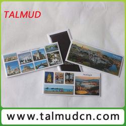 Tinplate Material Customized Full Colours Designs Souvenir Fridge Magnet