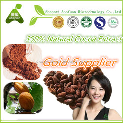 Herbal extract whitening skin raw cocoa extract 20%