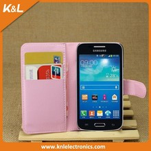 Top Seller Folio cover PU Leather Wallet Case For Sony xperia E1