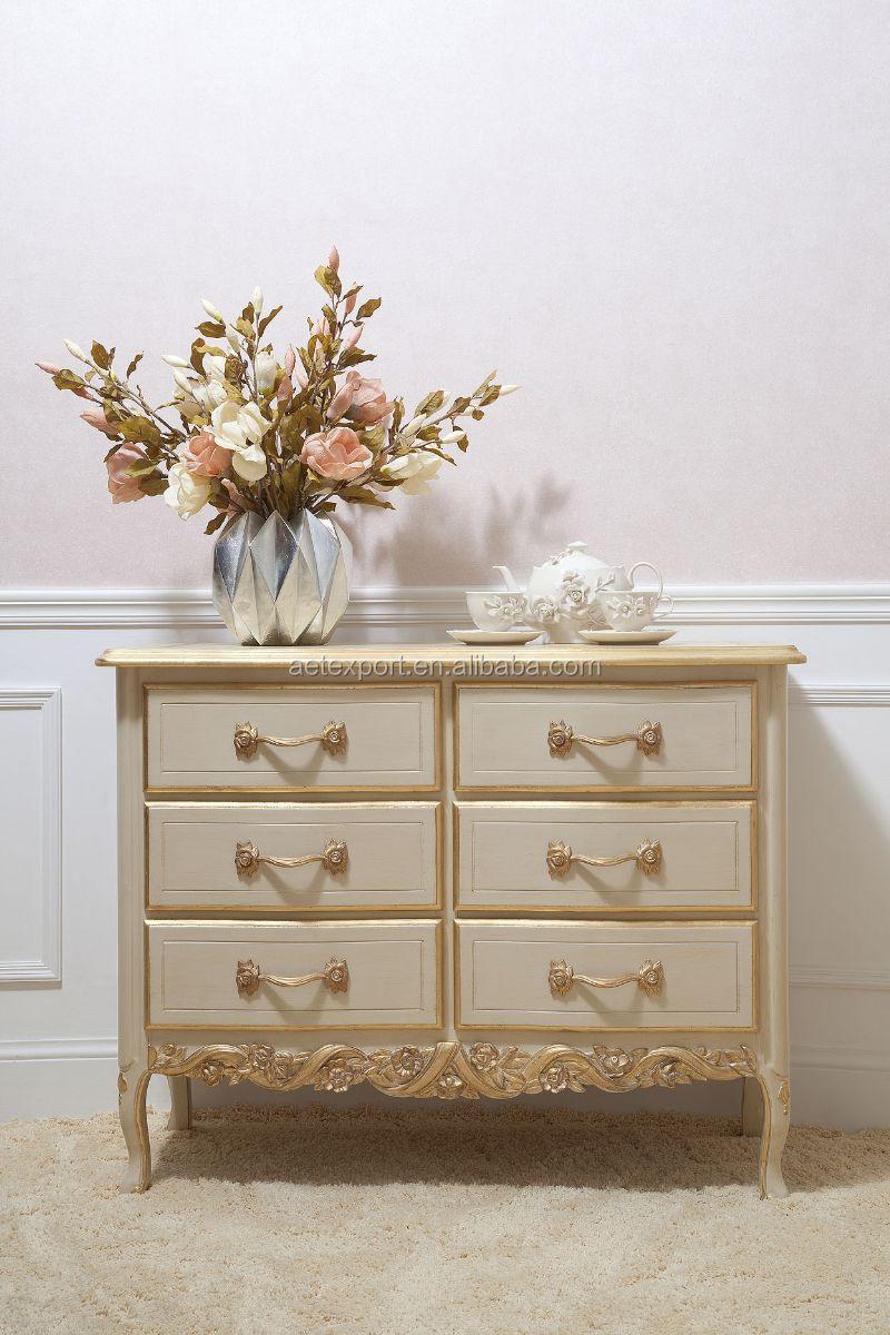 foshan romantische franse houten slaapkamer set, wit, bruiloft bed, Meubels Ideeën