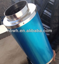 "4""/6""/8""/10""/12"" Hydroponic Blower Silencer/muffler for Greenhouse"